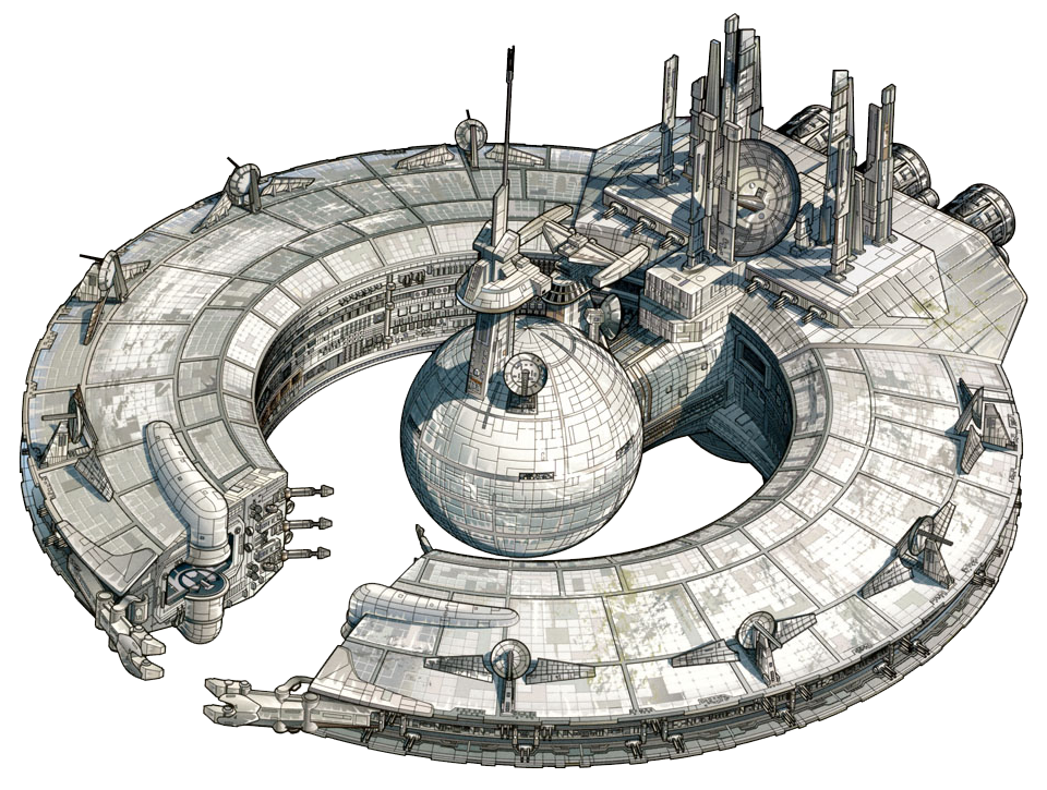 Корабль управления дроидами типа «Барышник»