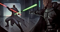 2bladed Jedi vs Sith BoS
