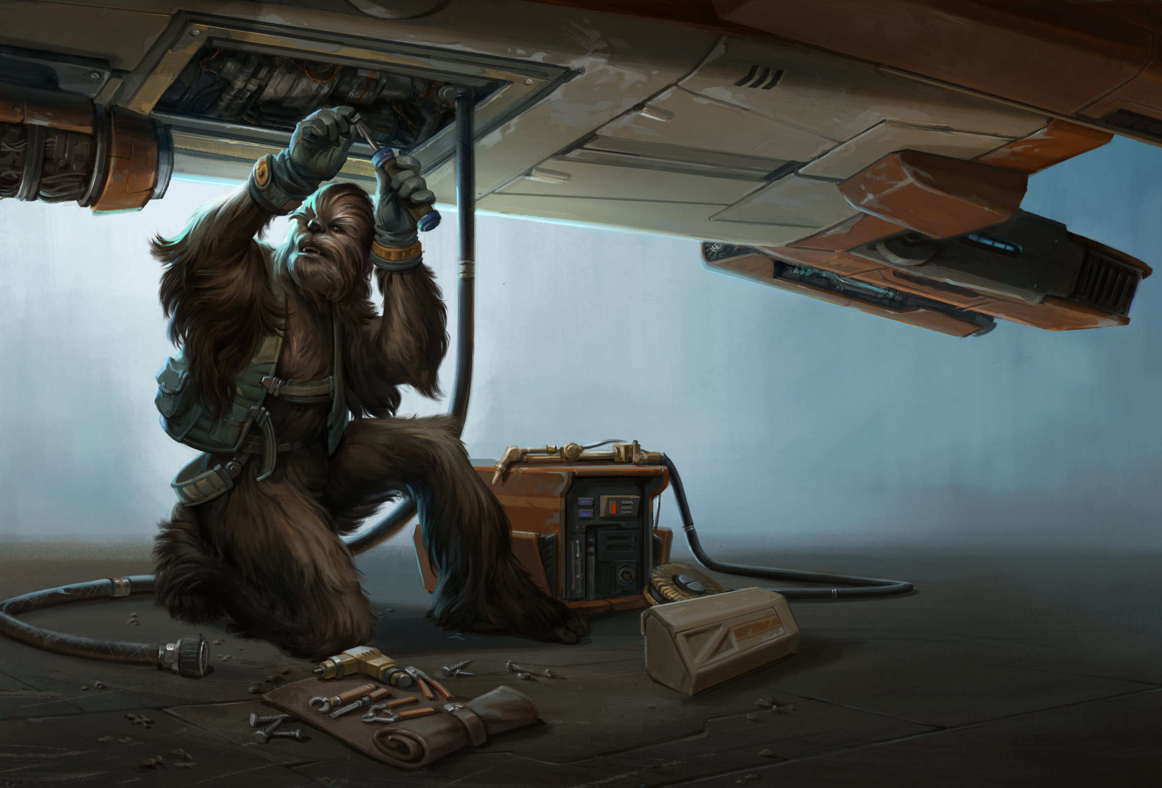 Wookiee Mechanic SM.png