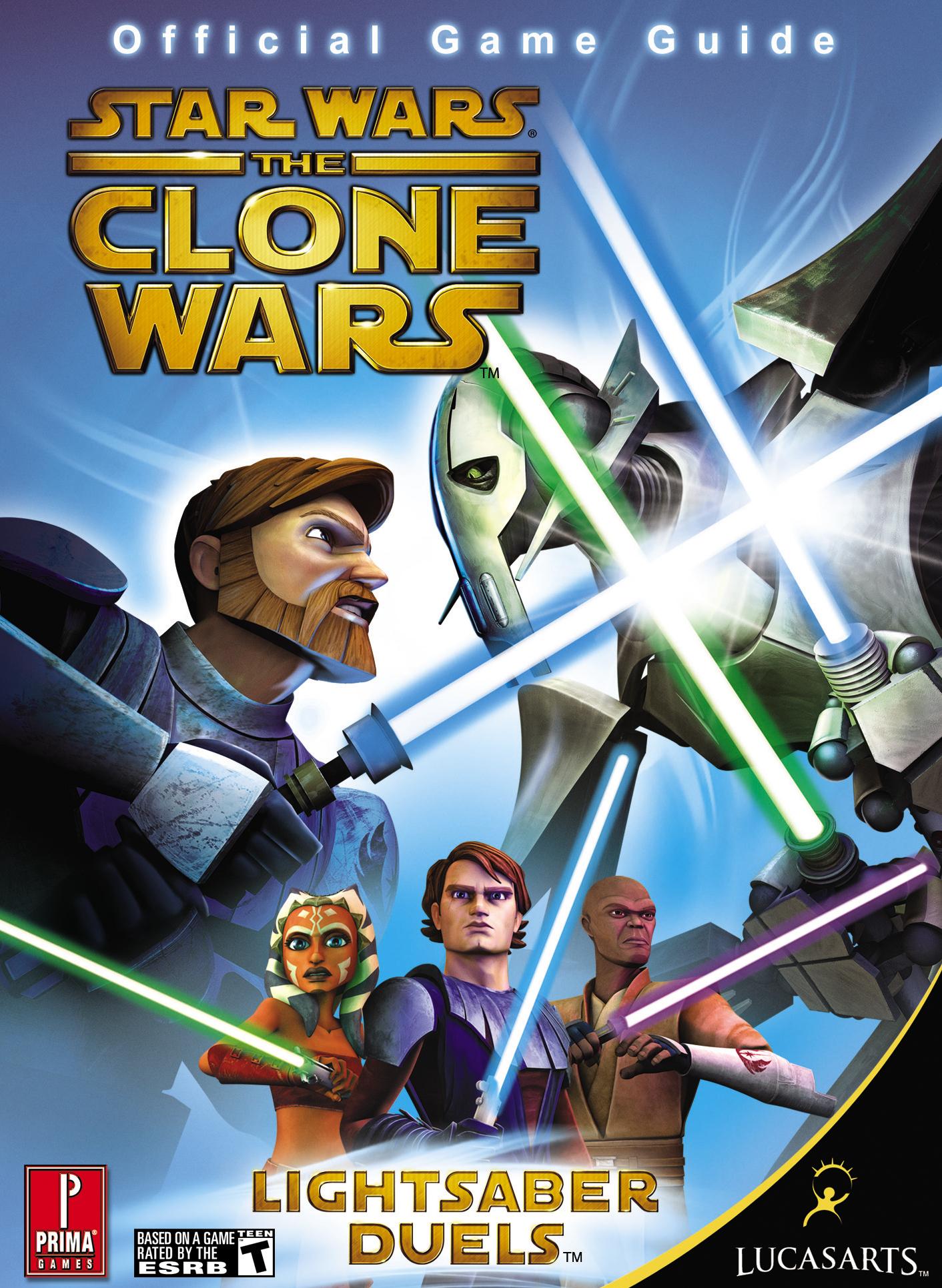 Star Wars: The Clone Wars: Lightsaber Duels: Официальное игровое руководство Prima