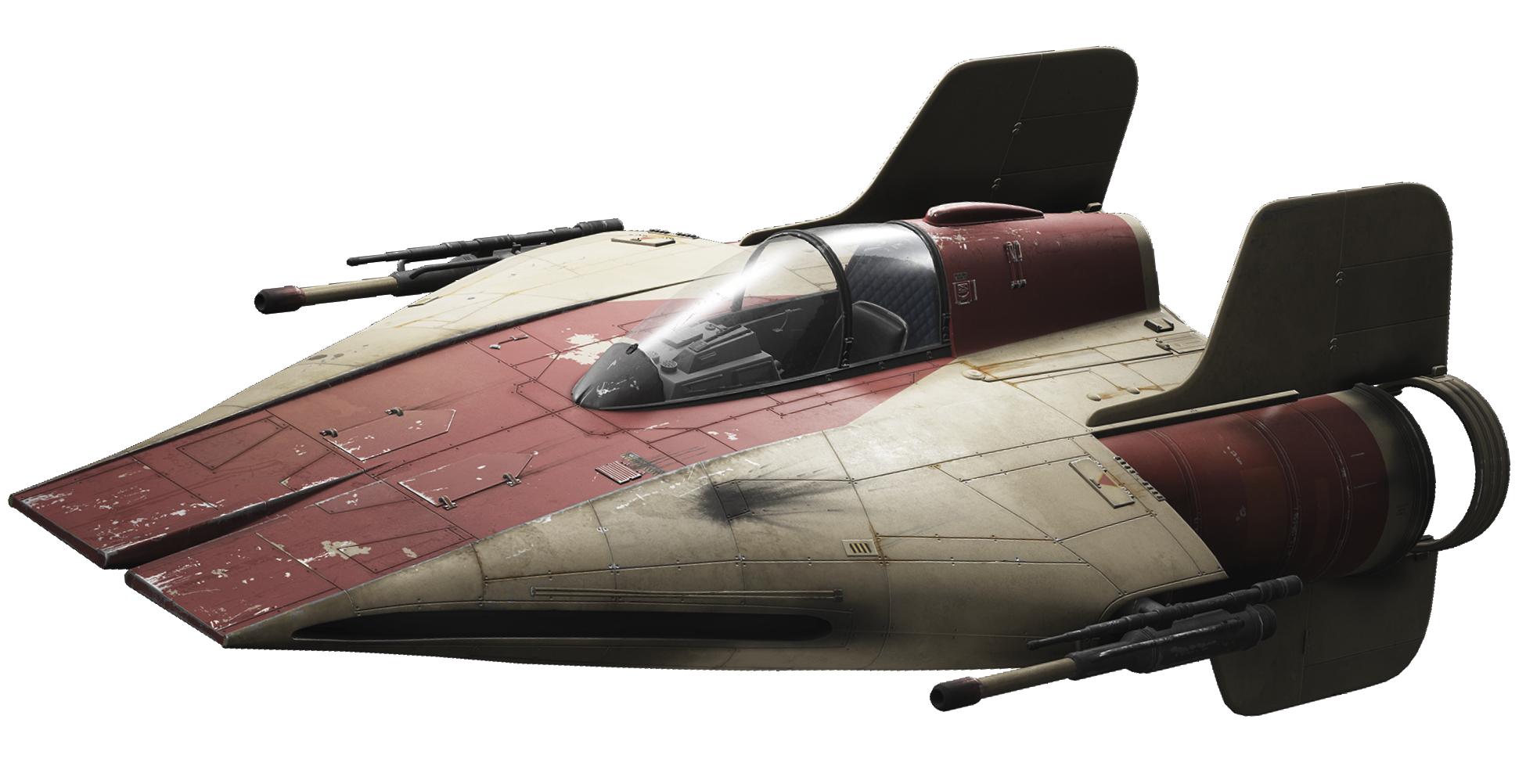 Перехватчик RZ-1 «A-wing»/Канон