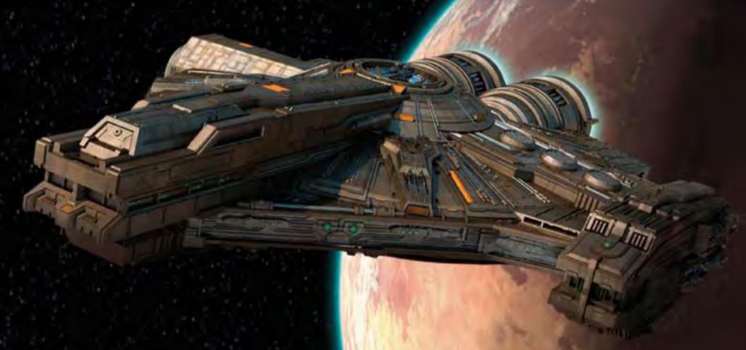 Лёгкий грузовой корабль XS/Канон