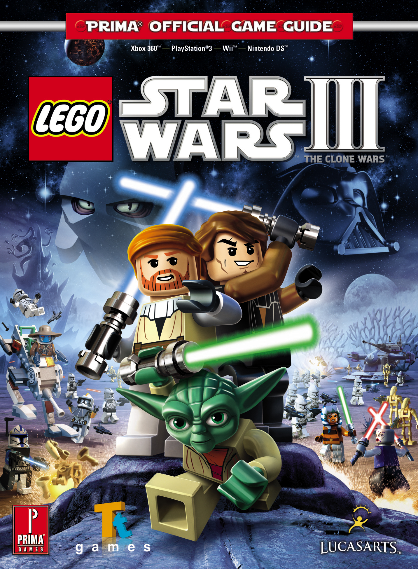LEGO Star Wars III: The Clone Wars: Официальное игровое руководство Prima