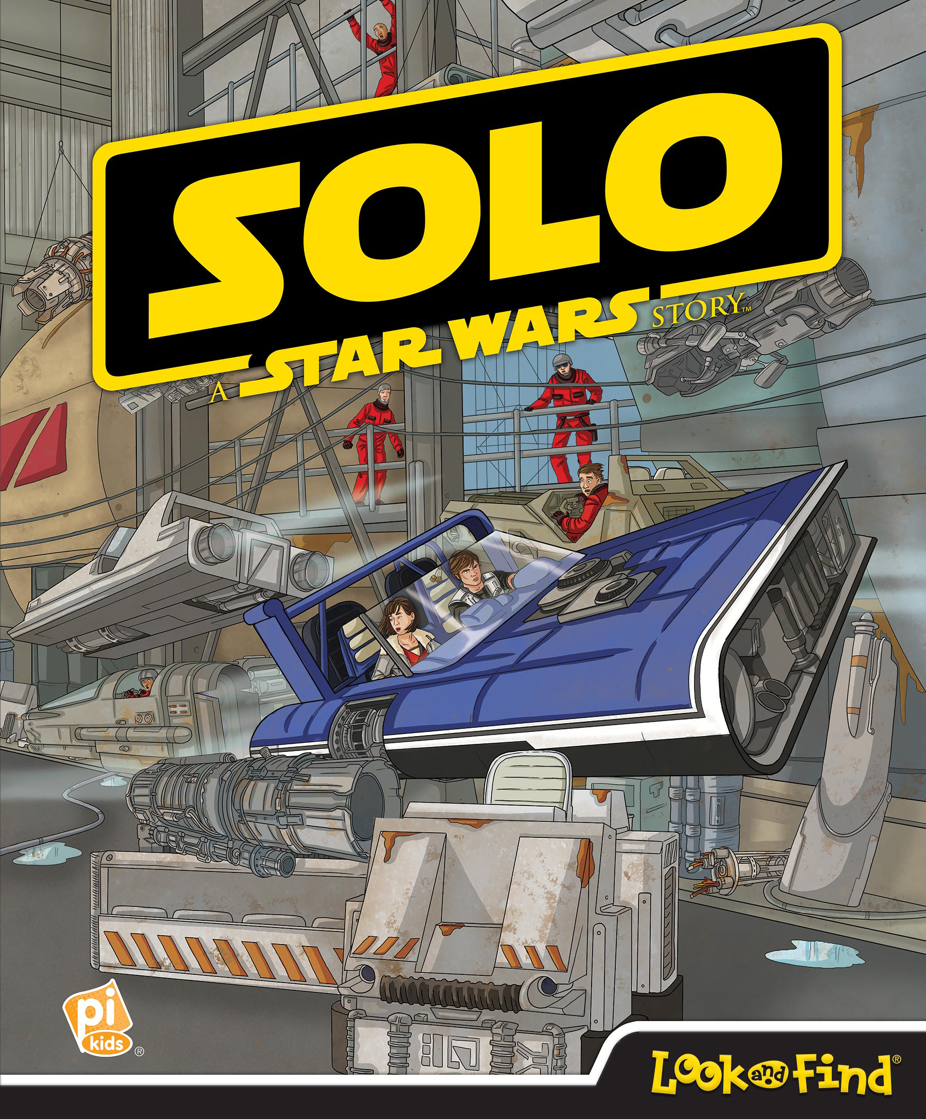 Звёздные войны: Соло: Ищи и находи