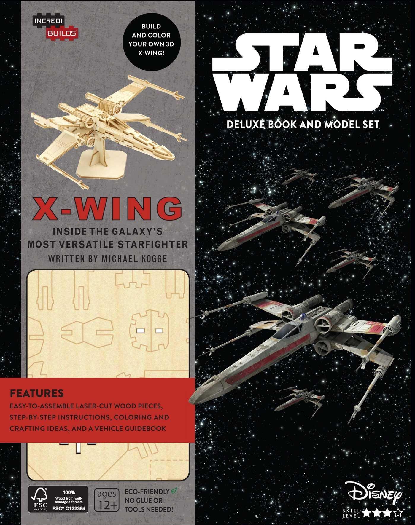 Звёздные войны: Книга и трёхмерная модель «X-wing»