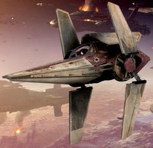 Звёздный истребитель «V-wing» Альфа-3 типа «Нимб»