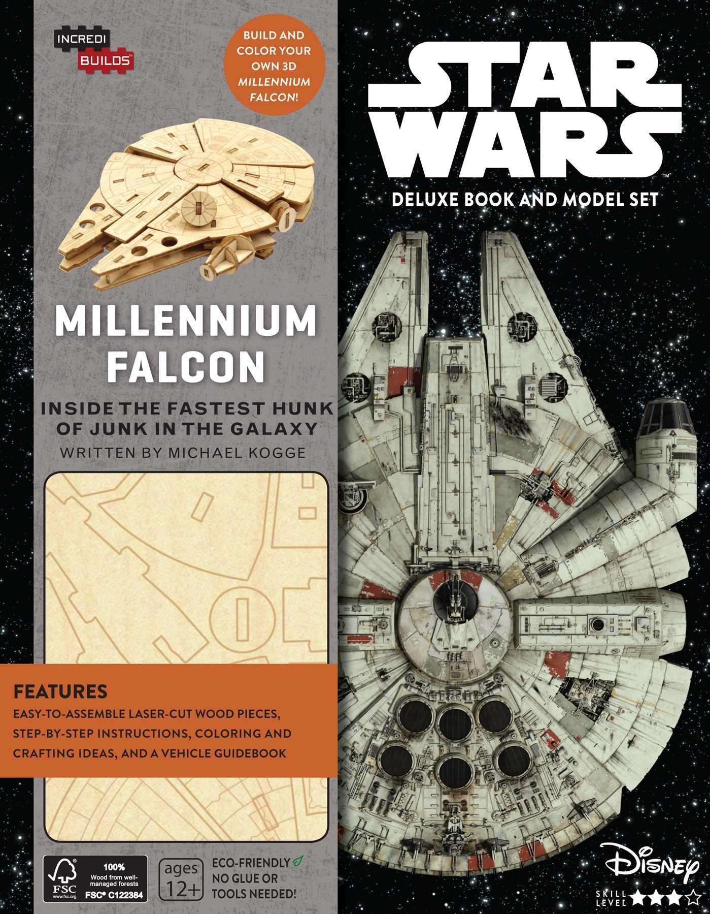 Звёздные войны: Книга и трёхмерная модель «Тысячелетнего сокола»