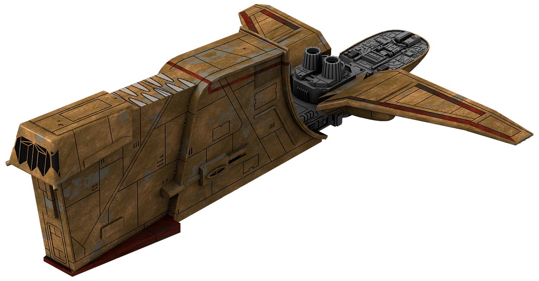 Лёгкий грузовой корабль YV-666