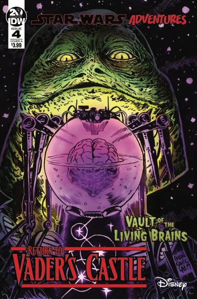 Возвращение в замок Вейдера 4: Хранилище живых мозгов