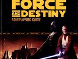 Свод правил к ролевой игре «Star Wars: Force and Destiny»