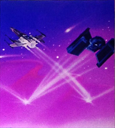 Space wrinkle Electronic Battle Command
