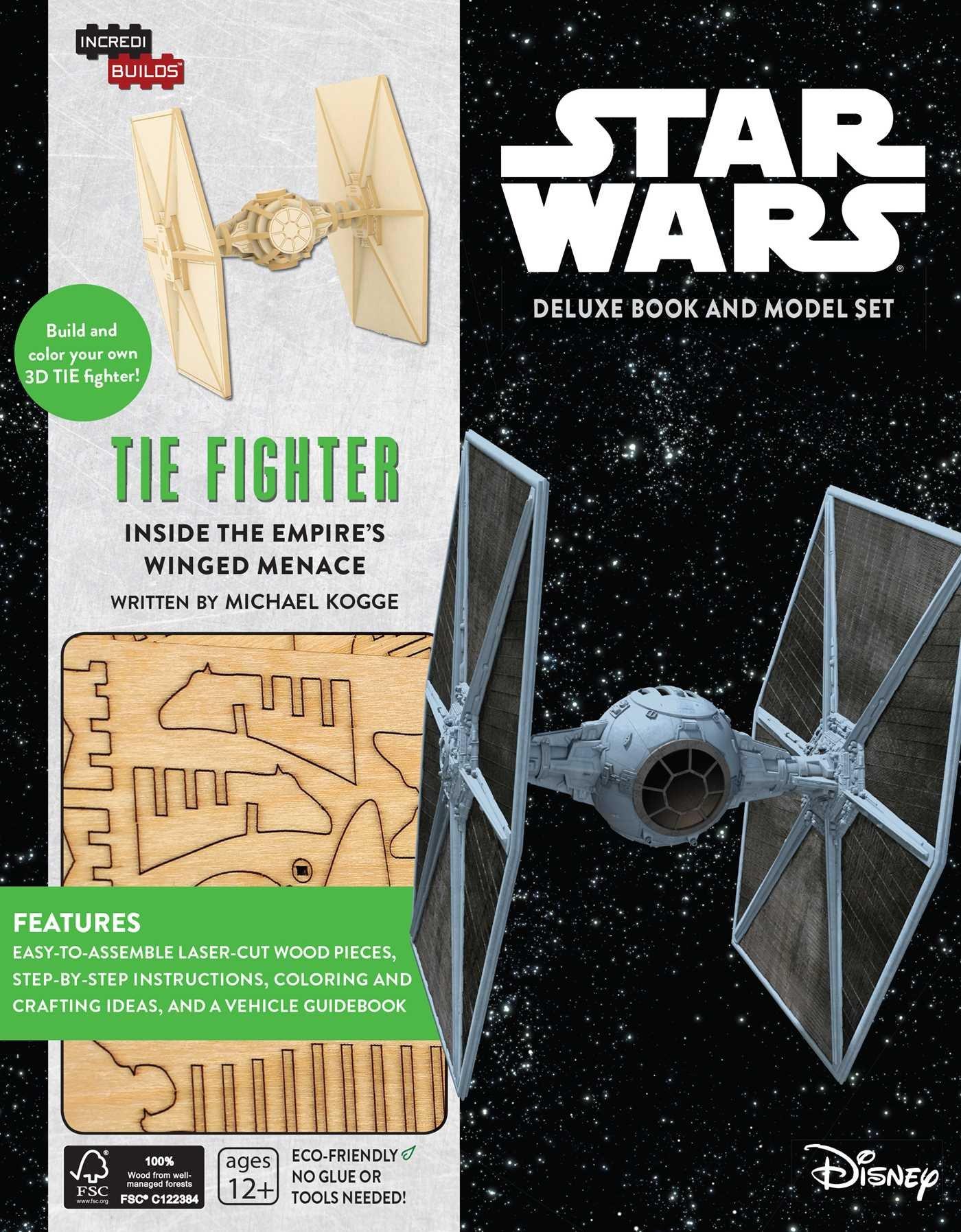 Звёздные войны: Книга и трёхмерная модель TIE-истребителя