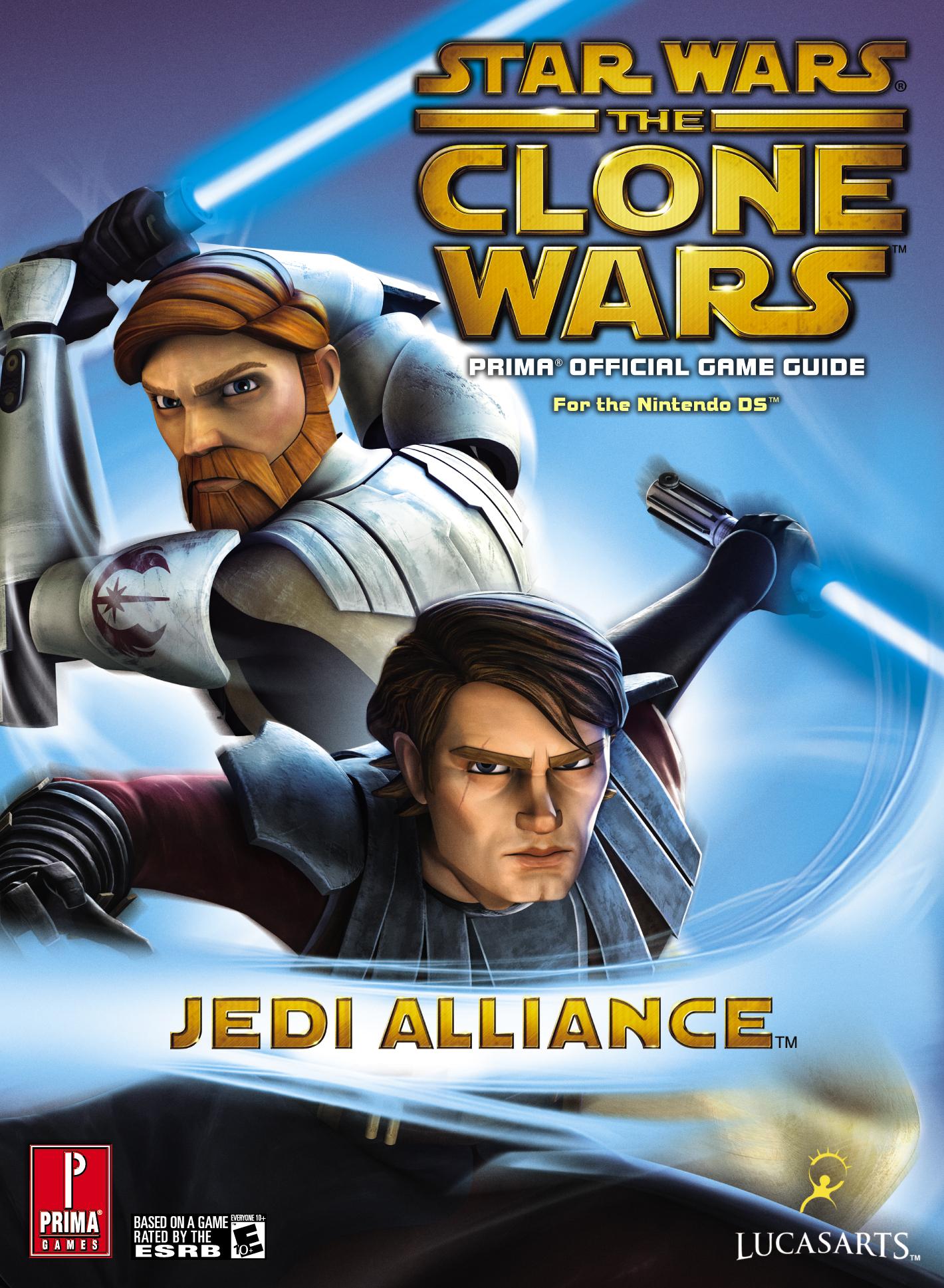 Star Wars: The Clone Wars: Jedi Alliance: Официальное игровое руководство Prima