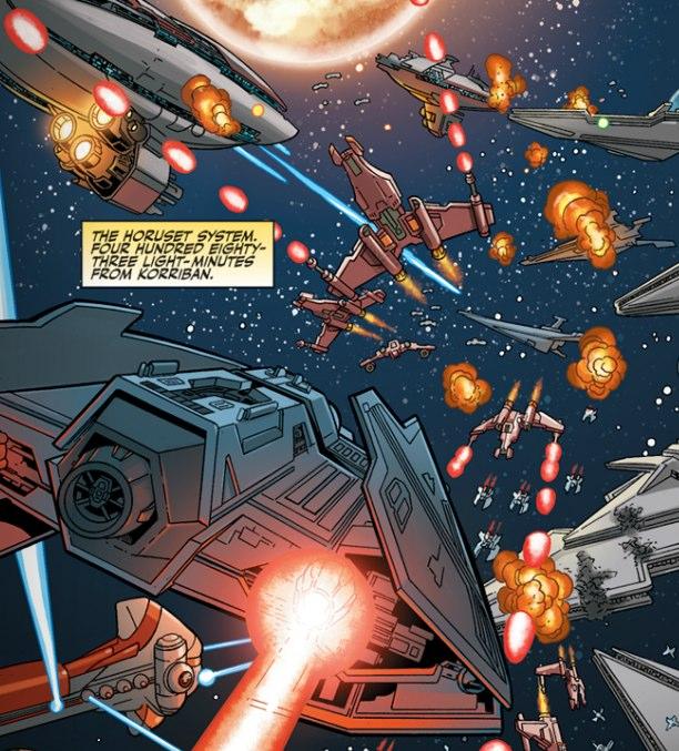 Вторая битва за Коррибан (Великая галактическая война)