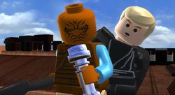 Pagetti Rook and lightsaber LEGO Saga.png