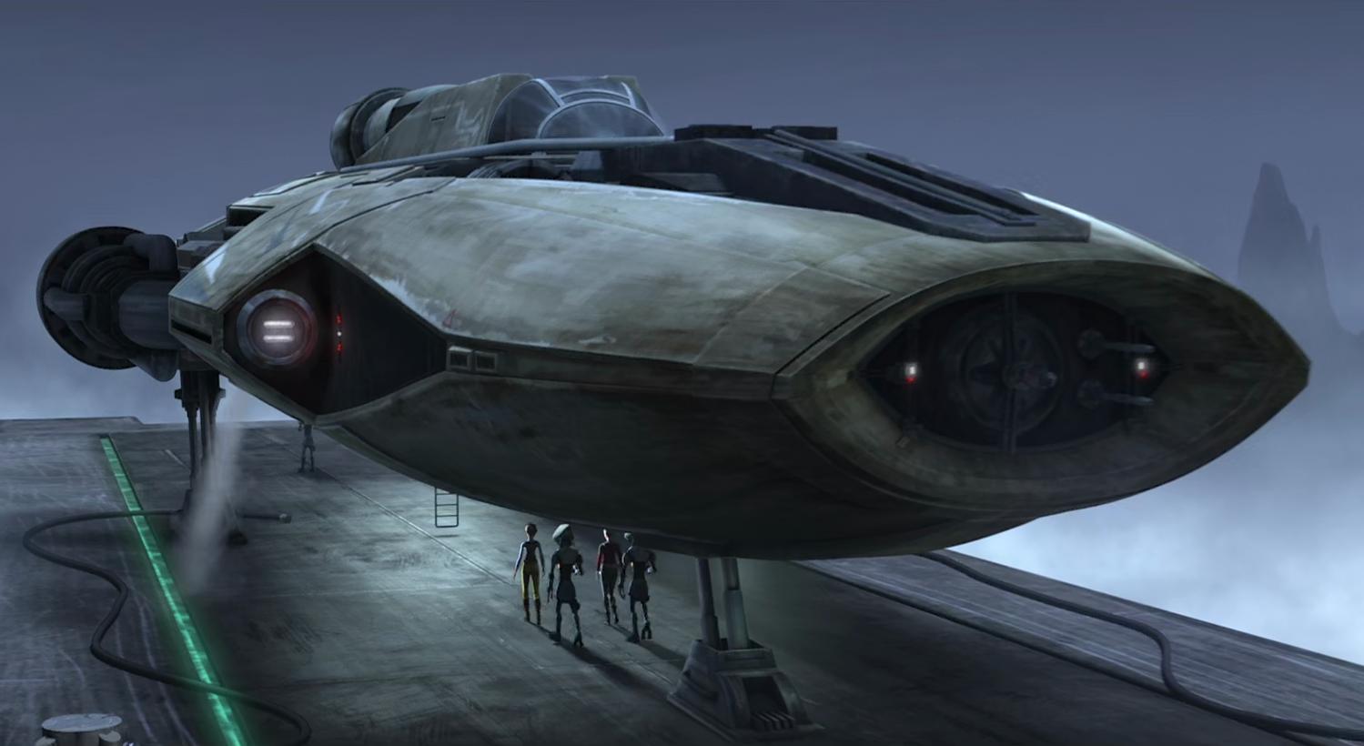 Грузовой корабль типа «Туманность»