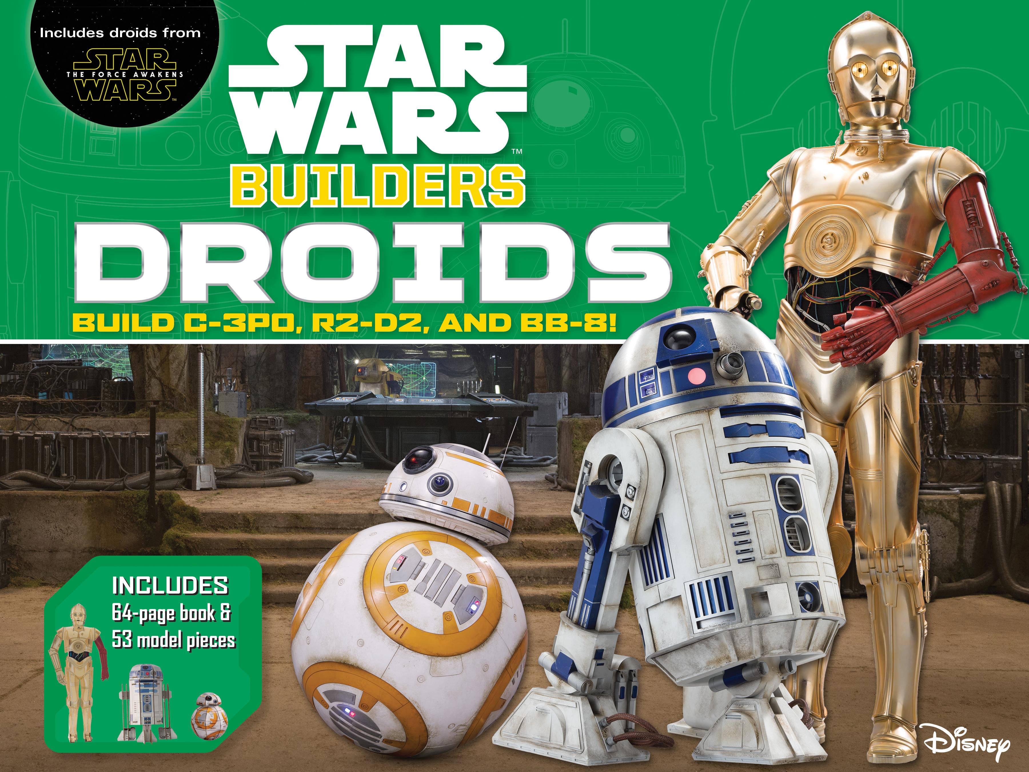 Строим «Звёздные войны»: Дроиды