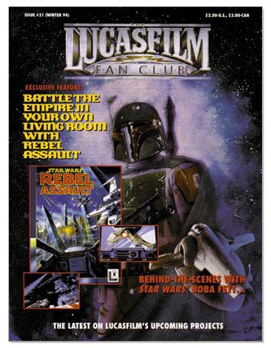 The Lucasfilm Fan Club Magazine 21