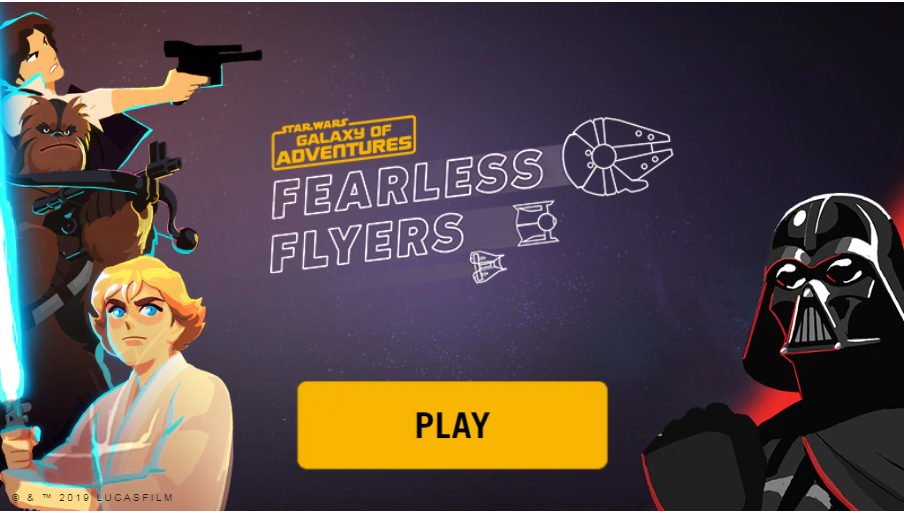 Star Wars Galaxy of Adventures: Fearless Flyers