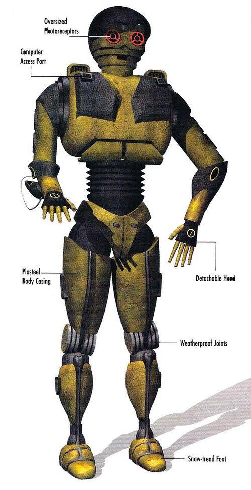 Протокольный дроид серии PD