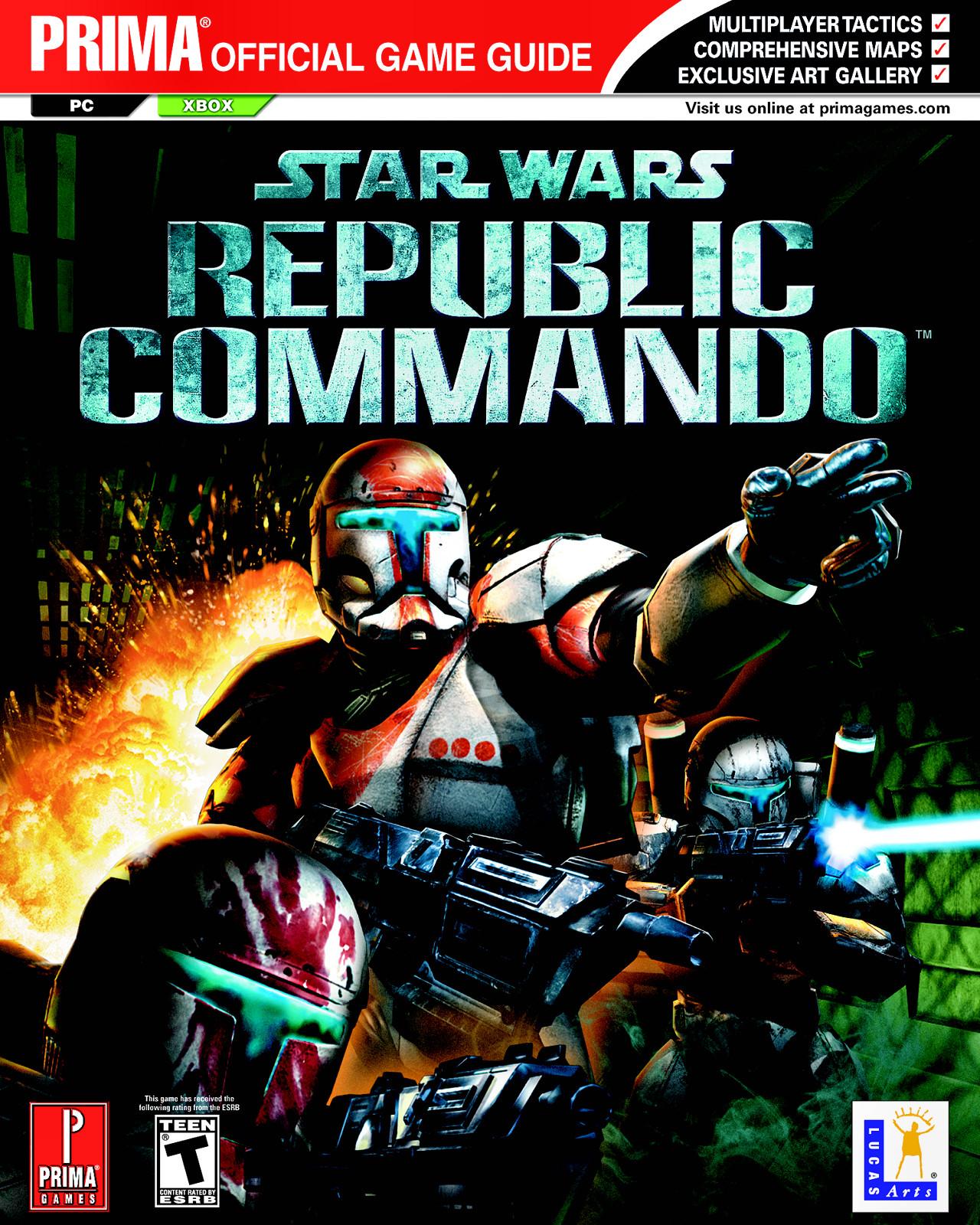 Star Wars: Republic Commando: Официальное игровое руководство Prima
