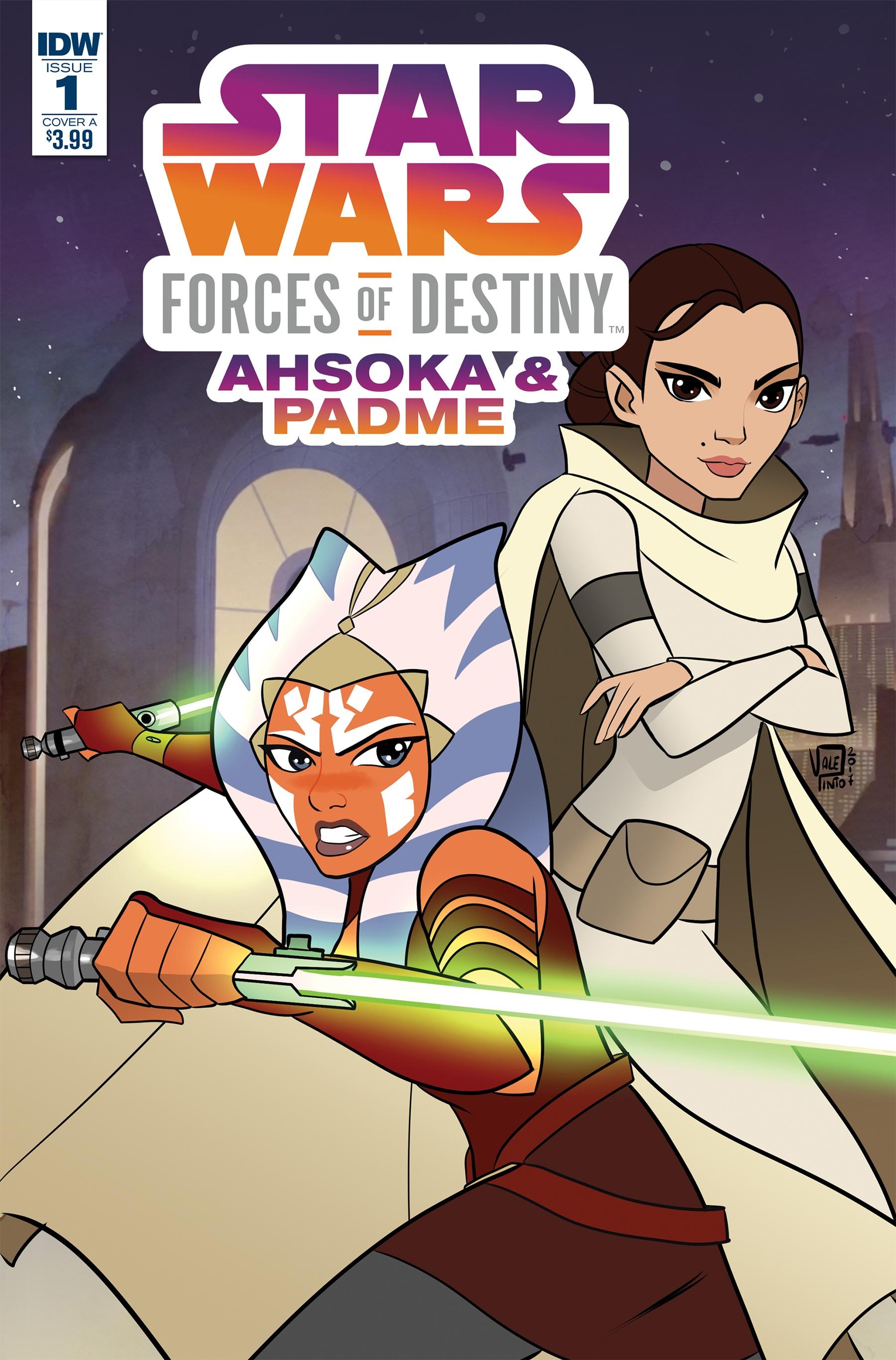Звёздные войны. Приключения: Силы судьбы. Асока и Падме