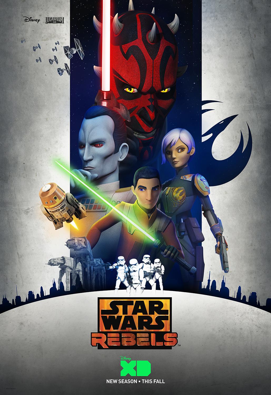 Третий сезон сериала «Звёздные войны. Повстанцы»