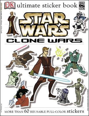 Звёздные войны. Войны клонов: Полная коллекция наклеек