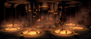 Jedi temple carbon freezing chamber