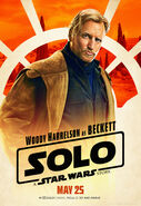 Solo A Star Wars Story Tobias Beckett character poster