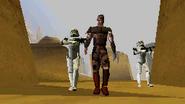Kheev arriving at Tatooine SWLA-DS