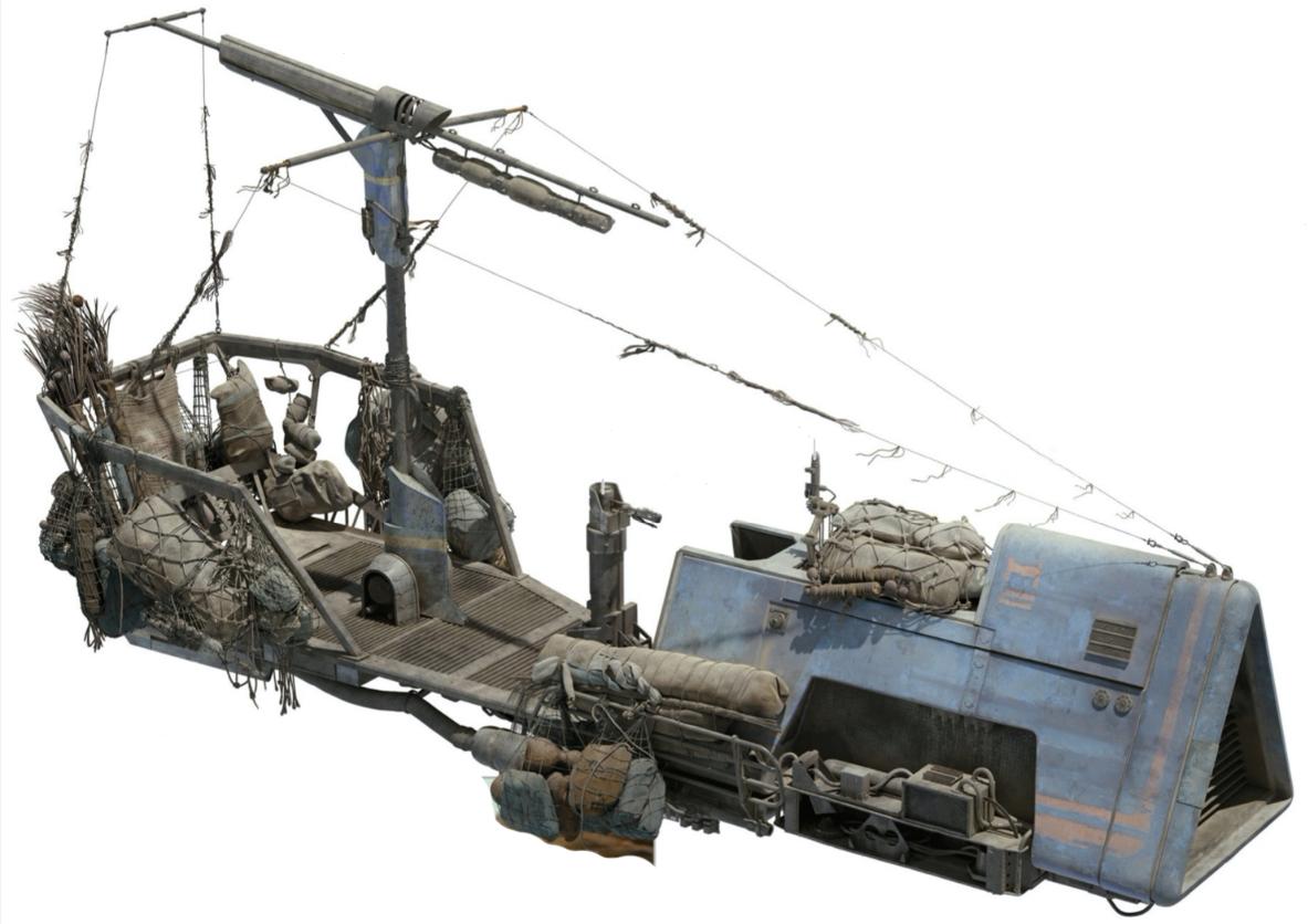 Грузовой скиммер-транспорт HS-19