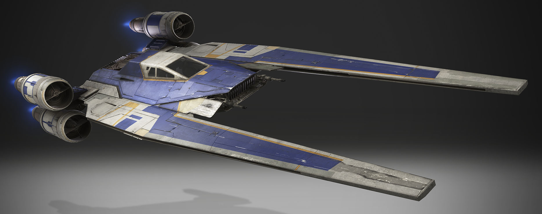 Звёздный истребитель/судно поддержки UT-60D «U-wing»