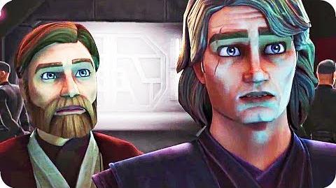 Star Wars The Clone Wars Trailer Comic Con (2018) New Season!-3