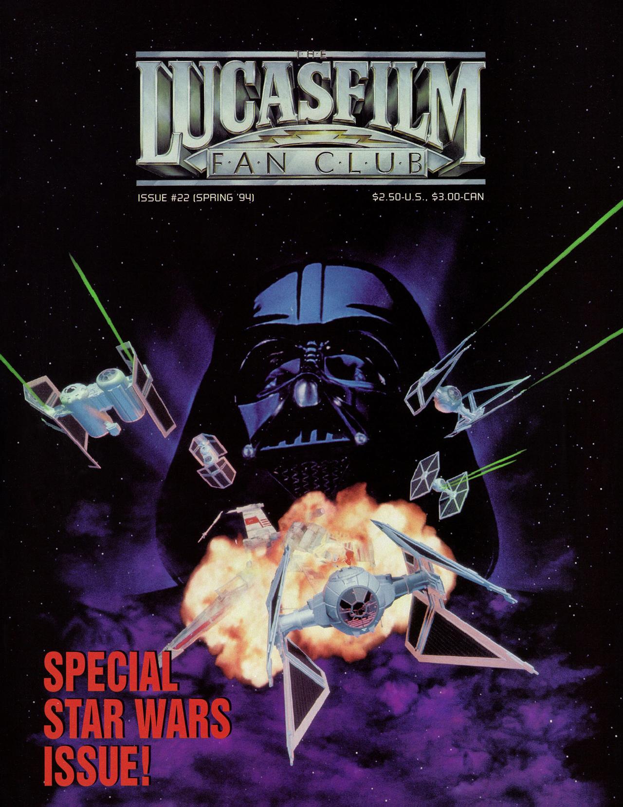 The Lucasfilm Fan Club Magazine 22