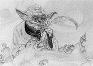 Michael Whelan My Jedi Journal sketch