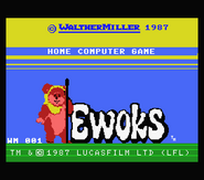 Wicket el Ewok start