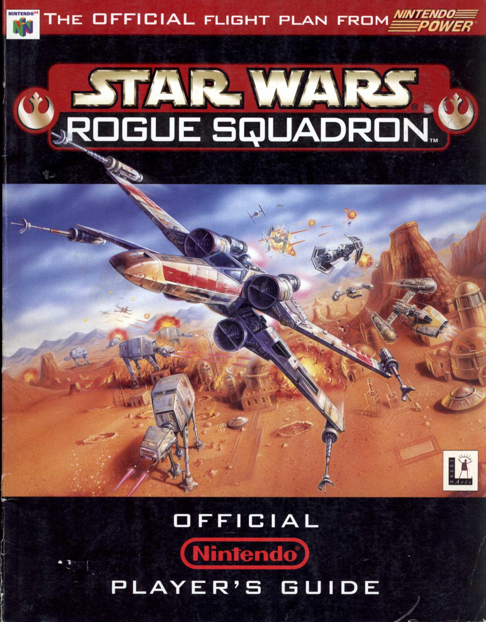 Star Wars: Rogue Squadron: официальное руководство игрока Nintendo