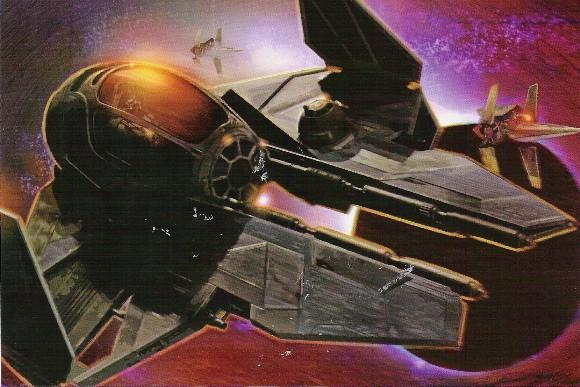 Чёрный перехватчик Эта-2 типа «Актис» Дарта Вейдера