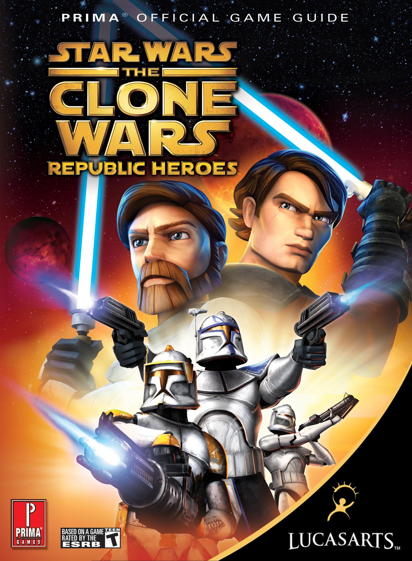 Star Wars: The Clone Wars: Republic Heroes: Официальное игровое руководство Prima