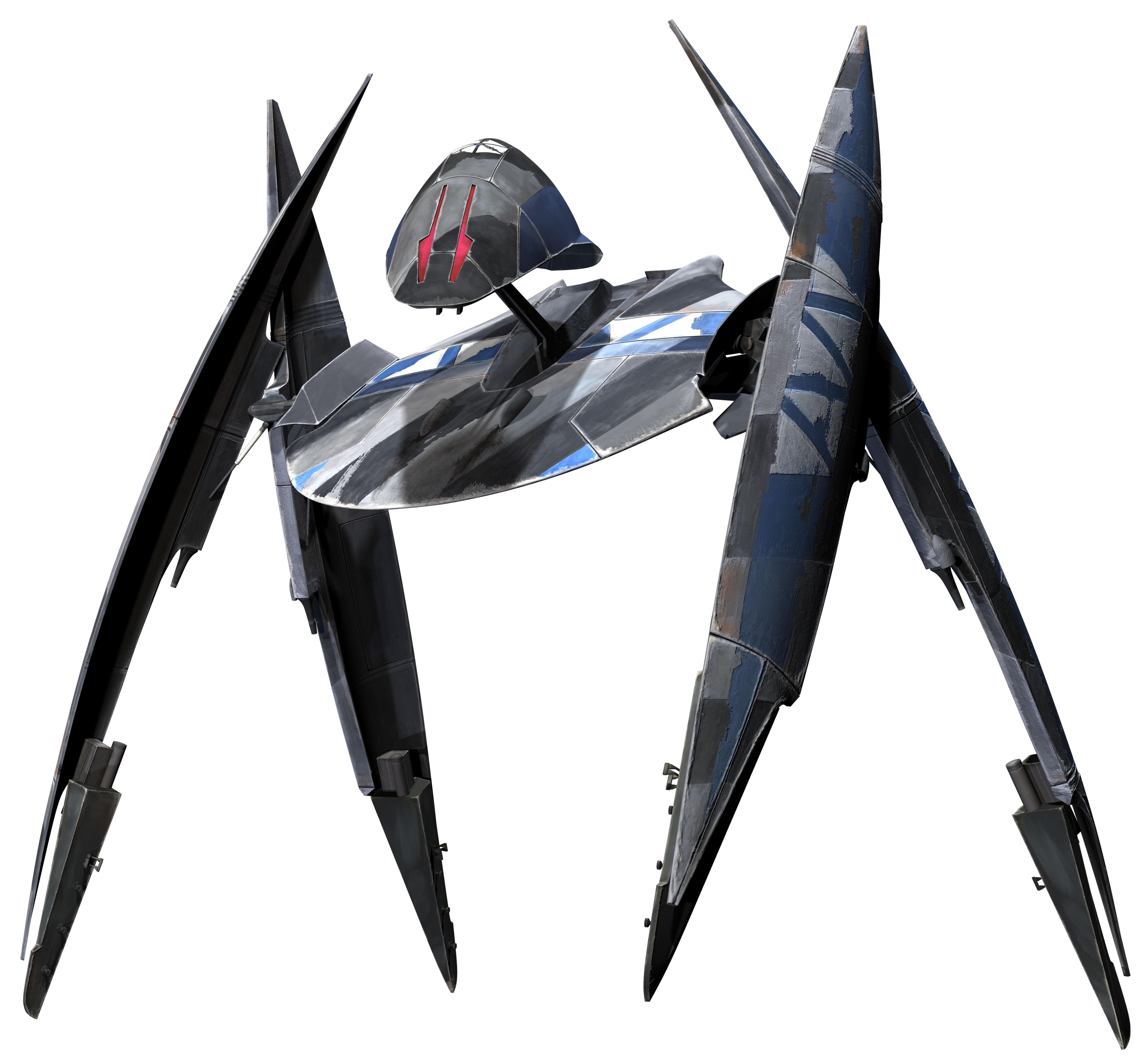 Боевой дроид-истребитель с изменяемой геометрией/Канон