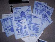 Star Wars Pendulum Press worksheets
