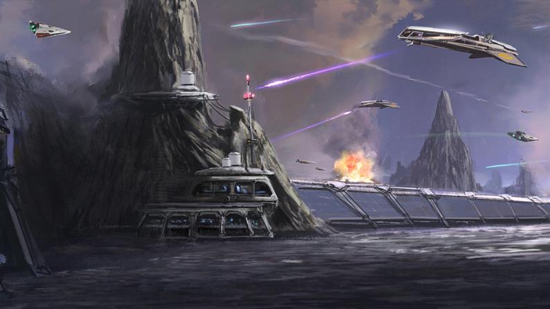 Битва за Балморру (Великая галактическая война)