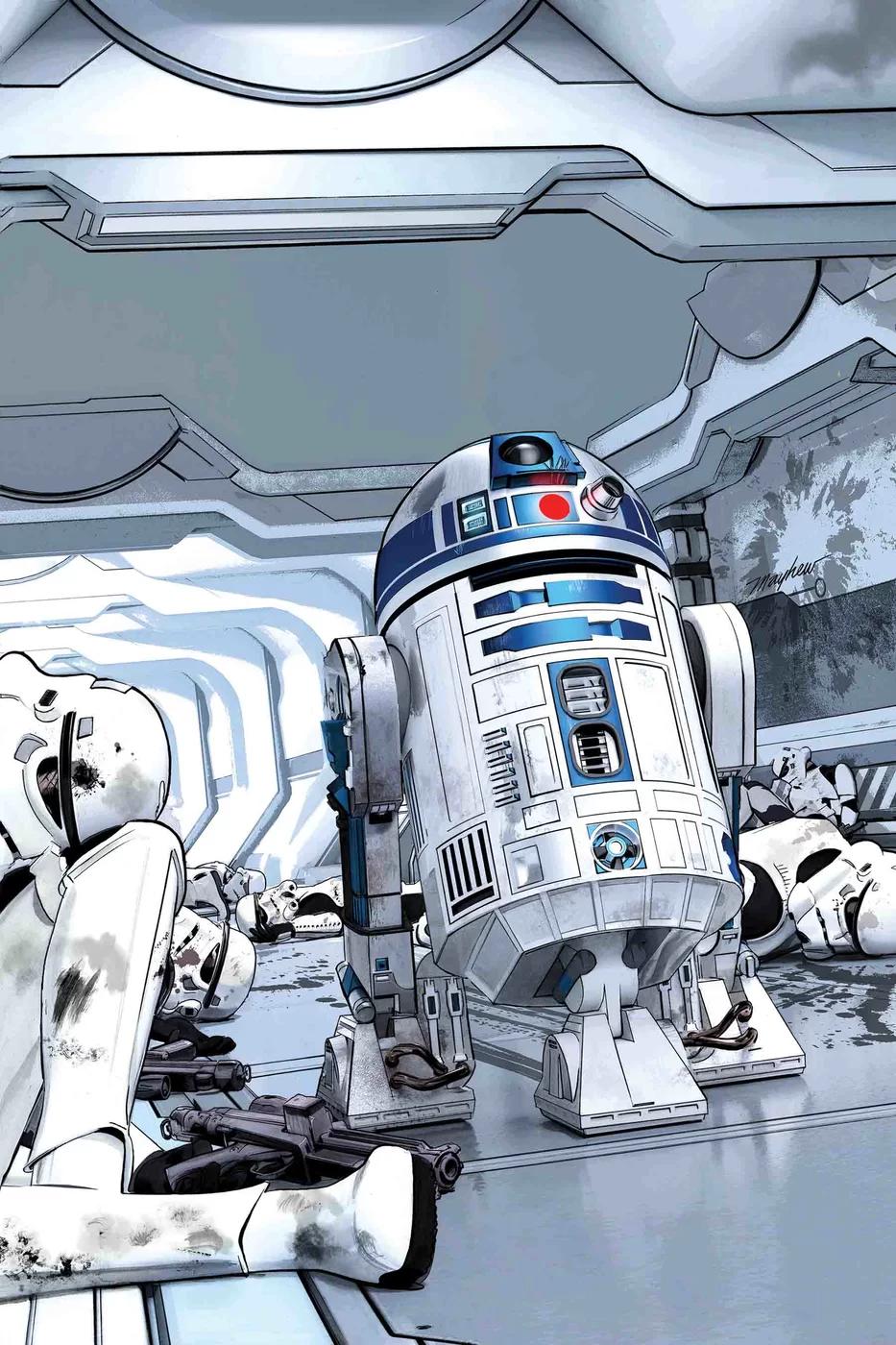 Звёздные войны 36: Месть астромеха