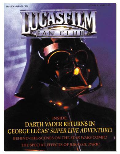 The Lucasfilm Fan Club Magazine 20