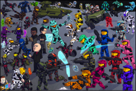 RvB Cute Characters Poster.png