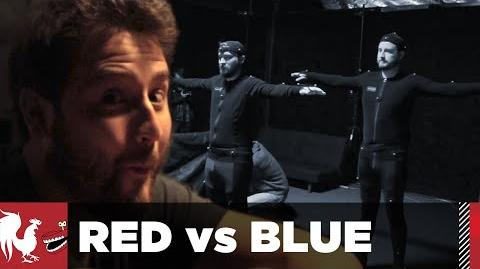 Behind the Scenes Motion Capture - Red vs