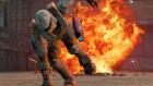 Carolina escapes from explosion