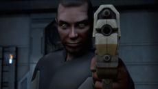 Price holds pistol.png