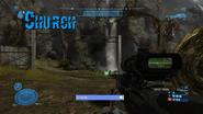 Church firefight